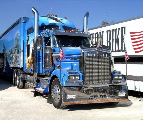 Camions americains - Dessin de camion americain ...